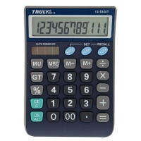 Calculatrice semi-bureau Truly 12ch ct866t12