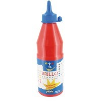 Gouache brillante brillo vermillon - flacon de 500ml