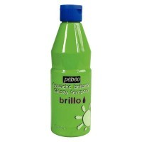 Gouache brillante brillo vert lumiere - flacon de 500ml