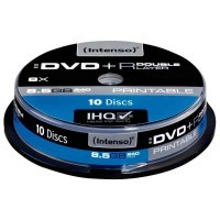 DVD+R Double Layer (Double Couche) 8,5Go imprimables - Lot de 10
