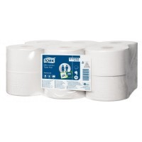 Papier hygienique Lotus mini jumbo 2 plis - Lot de 12