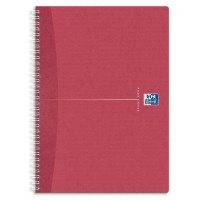 Cahier spirales recycle petit carreaux A4 180p 90g