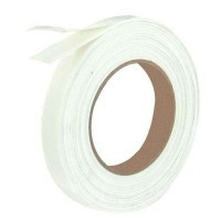 Rouleau adhesif double face mousse 18mmx5m blanc