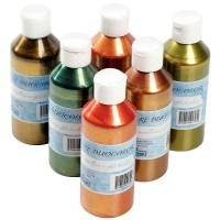 Encre a dessiner duocolor - Lot de 6 flacons de 250ml