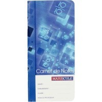 Carnet de notes du professeur 32p 90x195cm