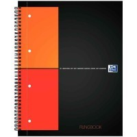 Cahier filingbook, a reliure integrale A4+ perforee 4 trous 5x5