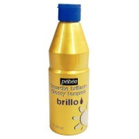 Gouache brillante Brillo or - Flacon 500 ml
