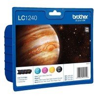 Cartouche Brother LC1240 - Pack de 4