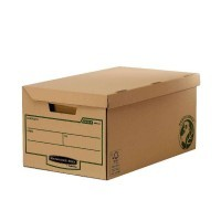 Containers archivage Flip top Box Maxi - Paquet de 10