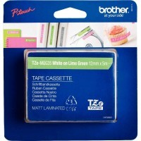 Recharge Brother Tze vert/blanc 12mm  ( TZE-MQG35 )