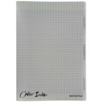 Cahier piqure 96 pages, 3 index, couverture polypropylene A4 seyes 90g