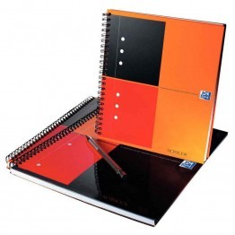 Cahier notebook reliure intégrale 001 230x297 ligne perforee