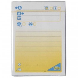 Bloc post it message telephone 102x74mm