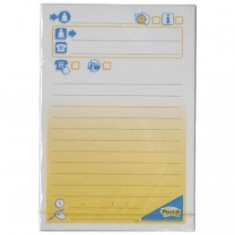 Bloc post it message telephone 102x149mm