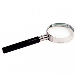 Loupe verre diametre 50mm chrome
