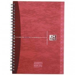 Reliure integrale address book 160p 14,8x21