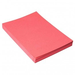 Couverture grain cuir rouge - Paquet 100