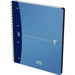 Cahier organizer european book polypropylène 240 pages A4 5x5