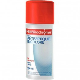 Spray au Mercurochrome incolore