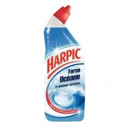 Flacon gel actif Harpic océane 750ml