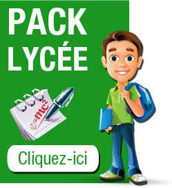 Pack lycée