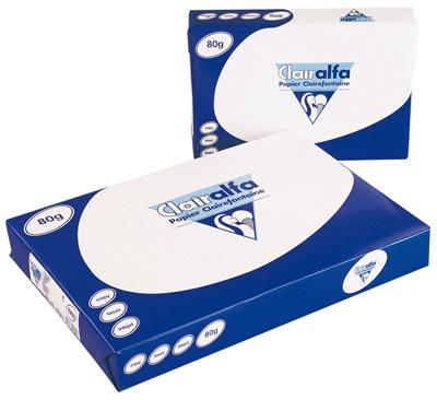 ramette papier clairefontaine a3 80g - blanc | vente de ramette