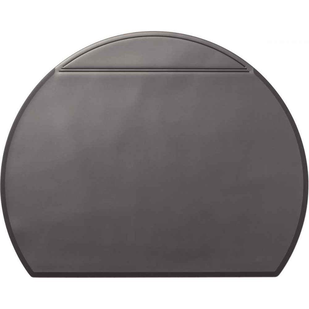 ce8bb18f94c53e Sous-main en pvc 65x52cm noir demi-cercle, Durable   Vente de Sous ...