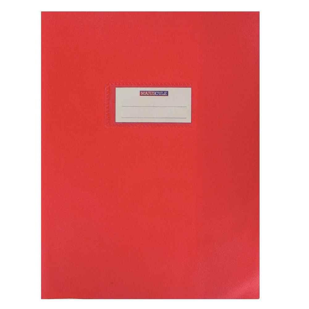 Protege cahier grand rabat 20 100 17x22 rouge vente de - Protege cahier avec rabat ...