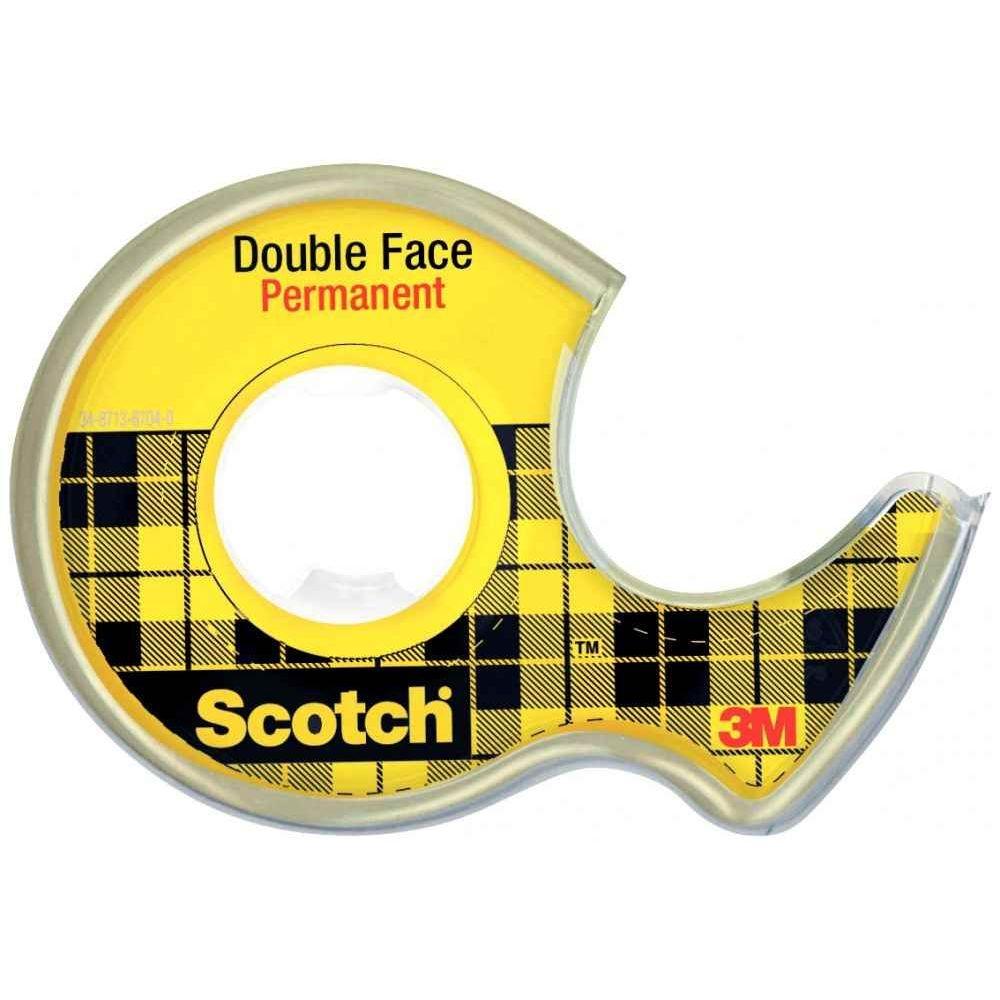 rouleau double face 12mmx6m scotch vente de ruban. Black Bedroom Furniture Sets. Home Design Ideas