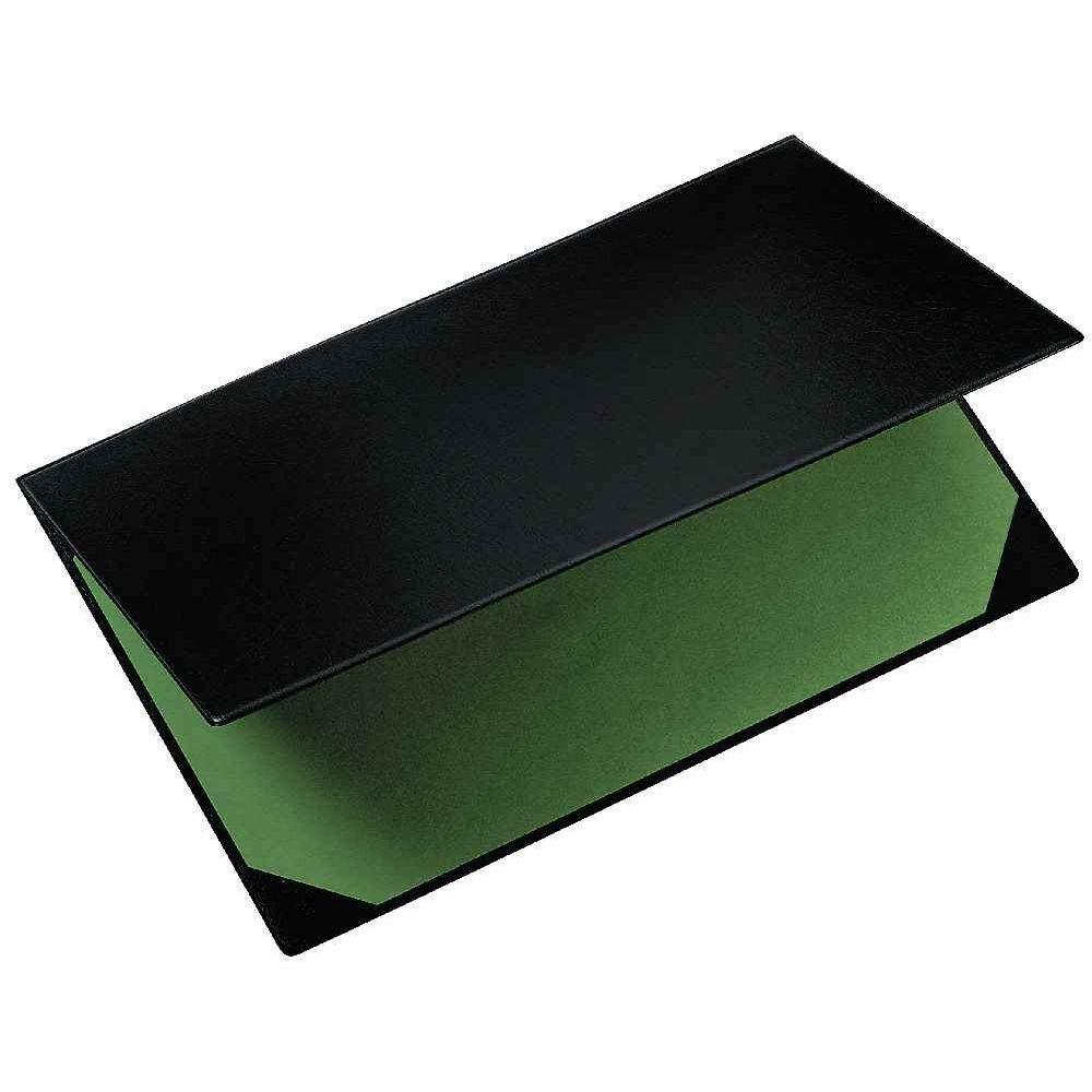 Sous main double plastique 40x60 noir exacompta vente - Sous main bureau personnalise photos ...