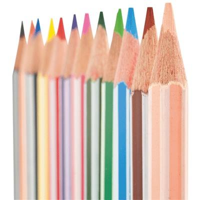 classpack de 144 crayons de couleur majuscule vente de. Black Bedroom Furniture Sets. Home Design Ideas