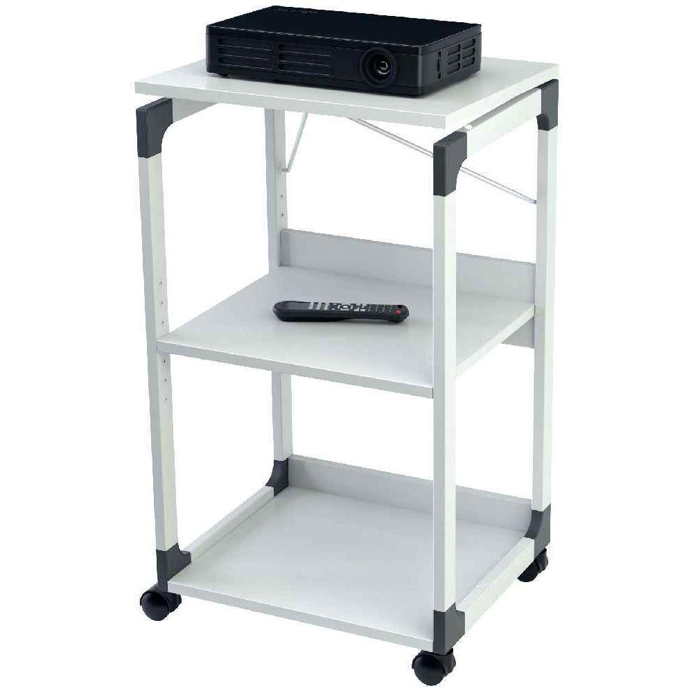 Table pour vid oprojecteur r troprojecteur compos de 3 tablettes durable vente de tables - Table pour videoprojecteur ...