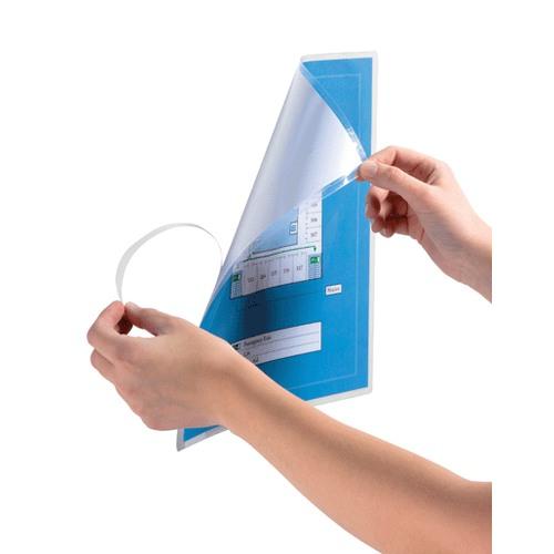 pochette de plastification à froid adhésive pour affichage a4