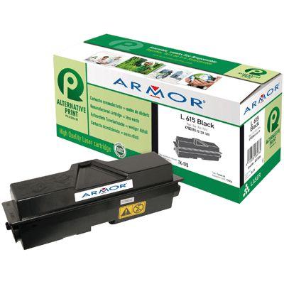 Toner Armor compatible KYOCERA TK170 Noir. Cartouche laser compatible KYOCERA TK170 Noire à la marque ARMOR pour imprimante laser KYOCERA.  7 2