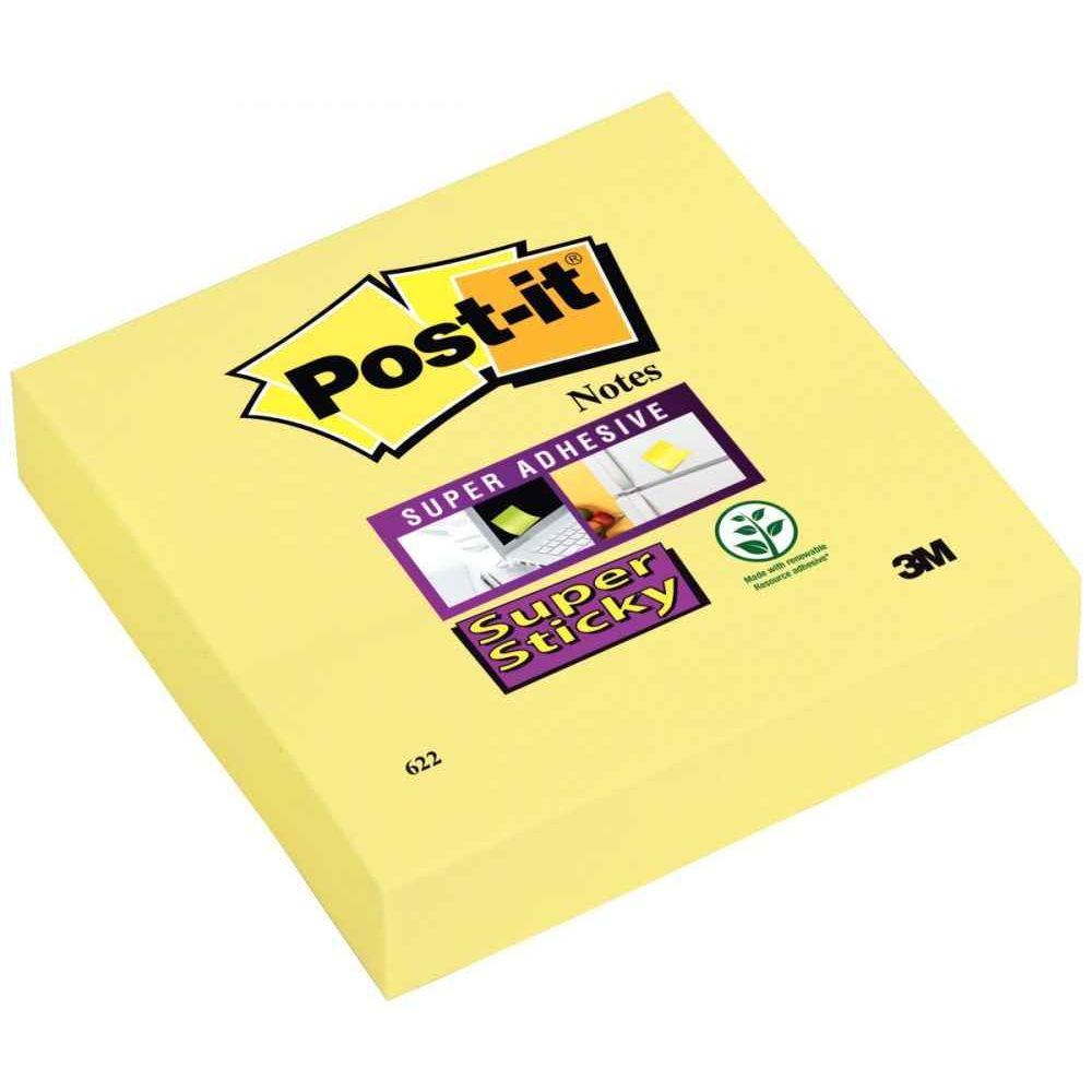 100 feuilles Post-it Notes coloris vert 76x127 mm 6 Blocs