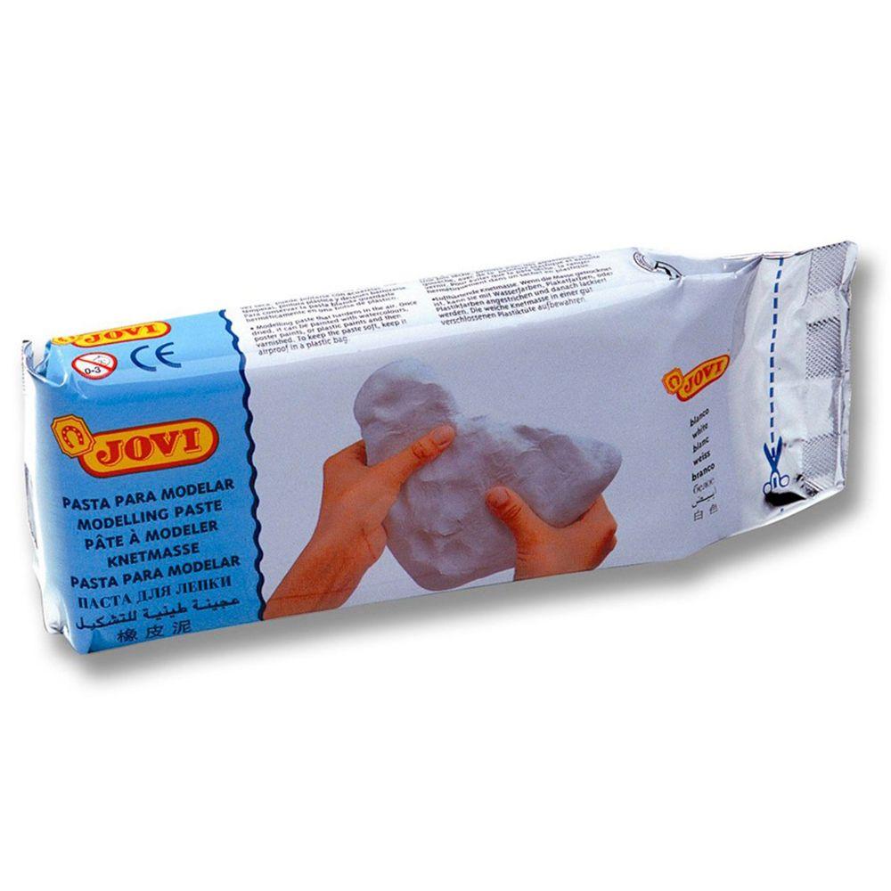 Pack de 9 pains de 500g de pâte auto-durcissante blanche, Jovi   Vente de Pate à Modeler ...