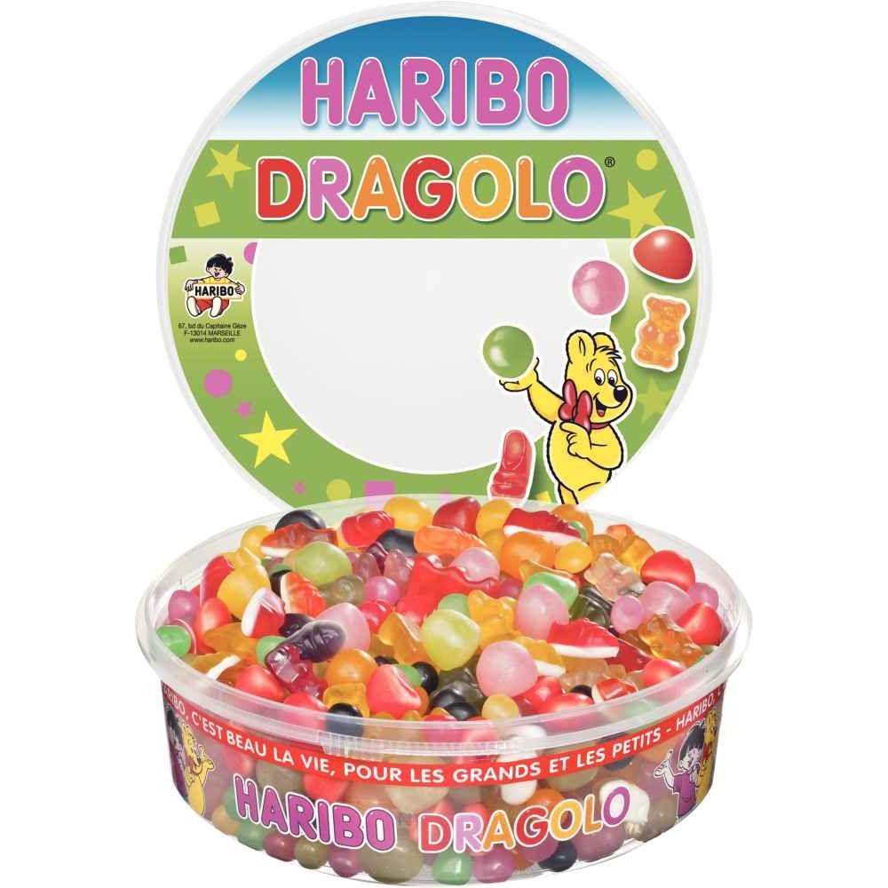 bonbons haribo dragolo boite de 750g n c la centrale du bureau. Black Bedroom Furniture Sets. Home Design Ideas