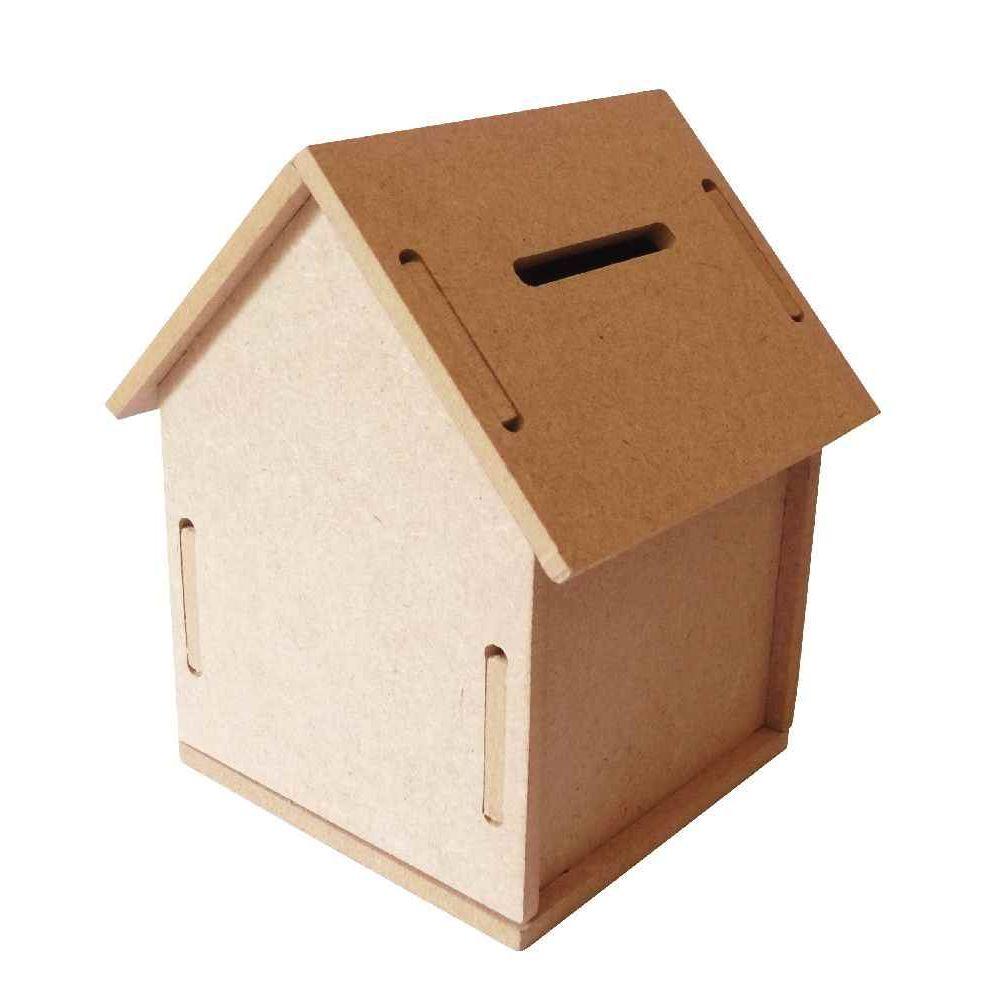 Tirelire maison en bois n c vente d 39 objet en bois d corer la centrale du bureau - Maison a decorer ...