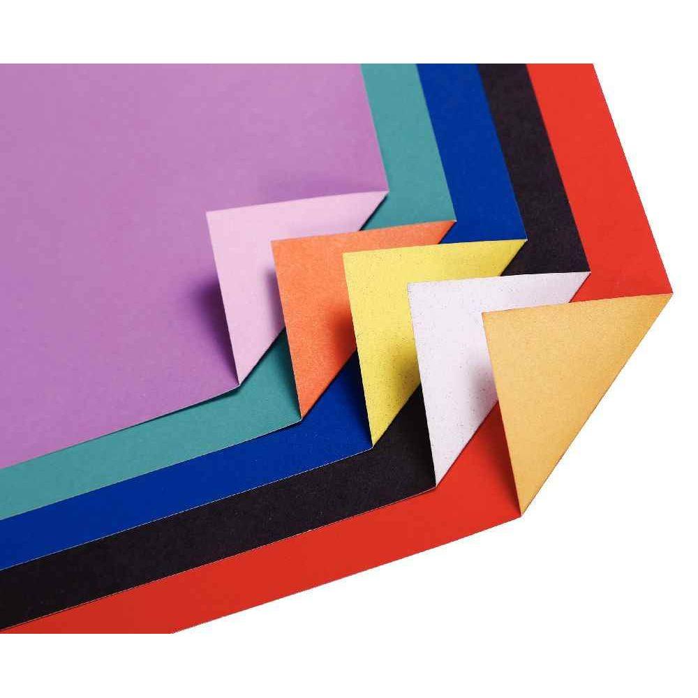 feuilles cartoline bicolore 50 x 65 cm couleurs assorties paquet de 25 maildor vente de. Black Bedroom Furniture Sets. Home Design Ideas