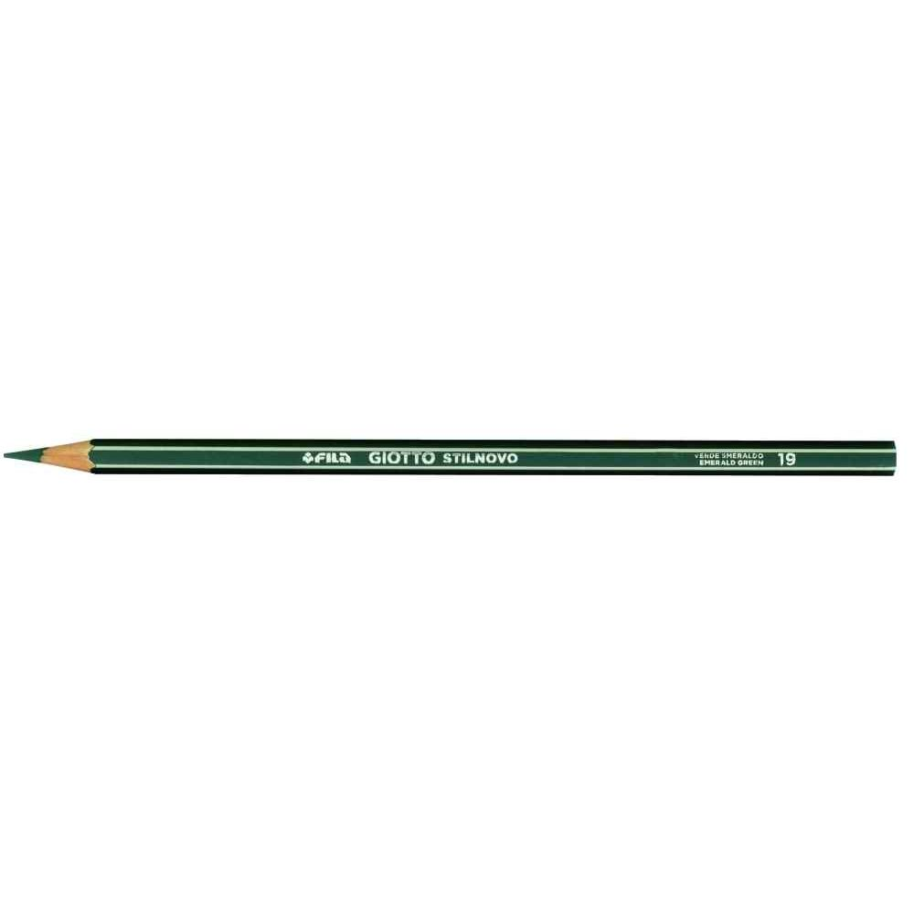 Couleur De L Emeraude crayons de couleur stilnovo vert émeraude - boite de 12
