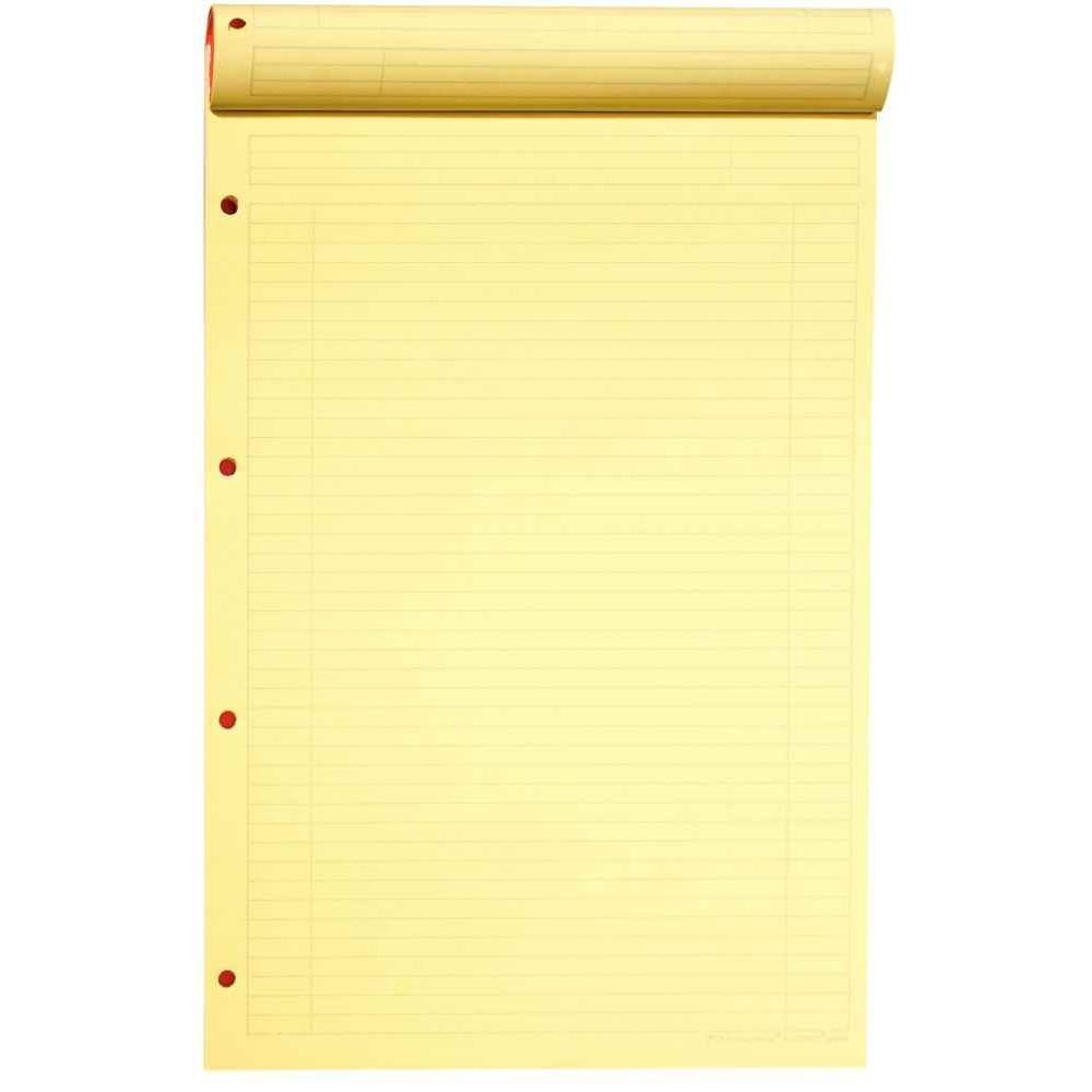 Bloc notepad 001 21x32 ligne detachable perfore 4t jaune oxford office vente de bloc de - Feuille de pierre pas cher ...