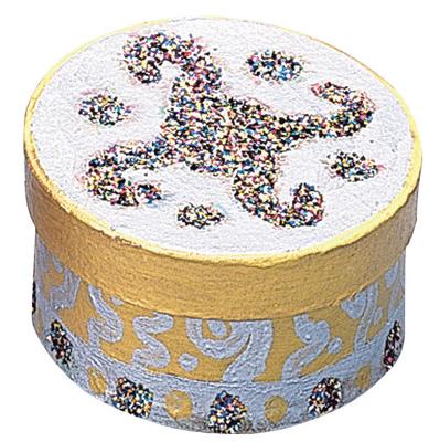 Boite en carton ronde d7cm lot de 10 la fourmi vente d 39 objet en carton d corer la - Boite en carton a decorer ...