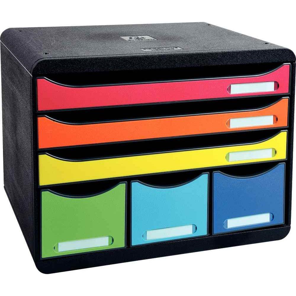 4441a903479e8 Module individuel à 6 tiroirs dont 3 tiroirs pour documents au format A4+  Arle