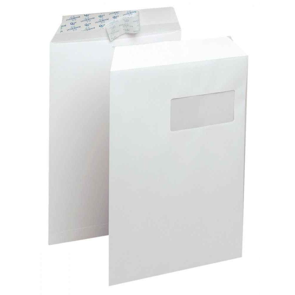 enveloppe la couronne v lin blanche c4 229x324 90g. Black Bedroom Furniture Sets. Home Design Ideas