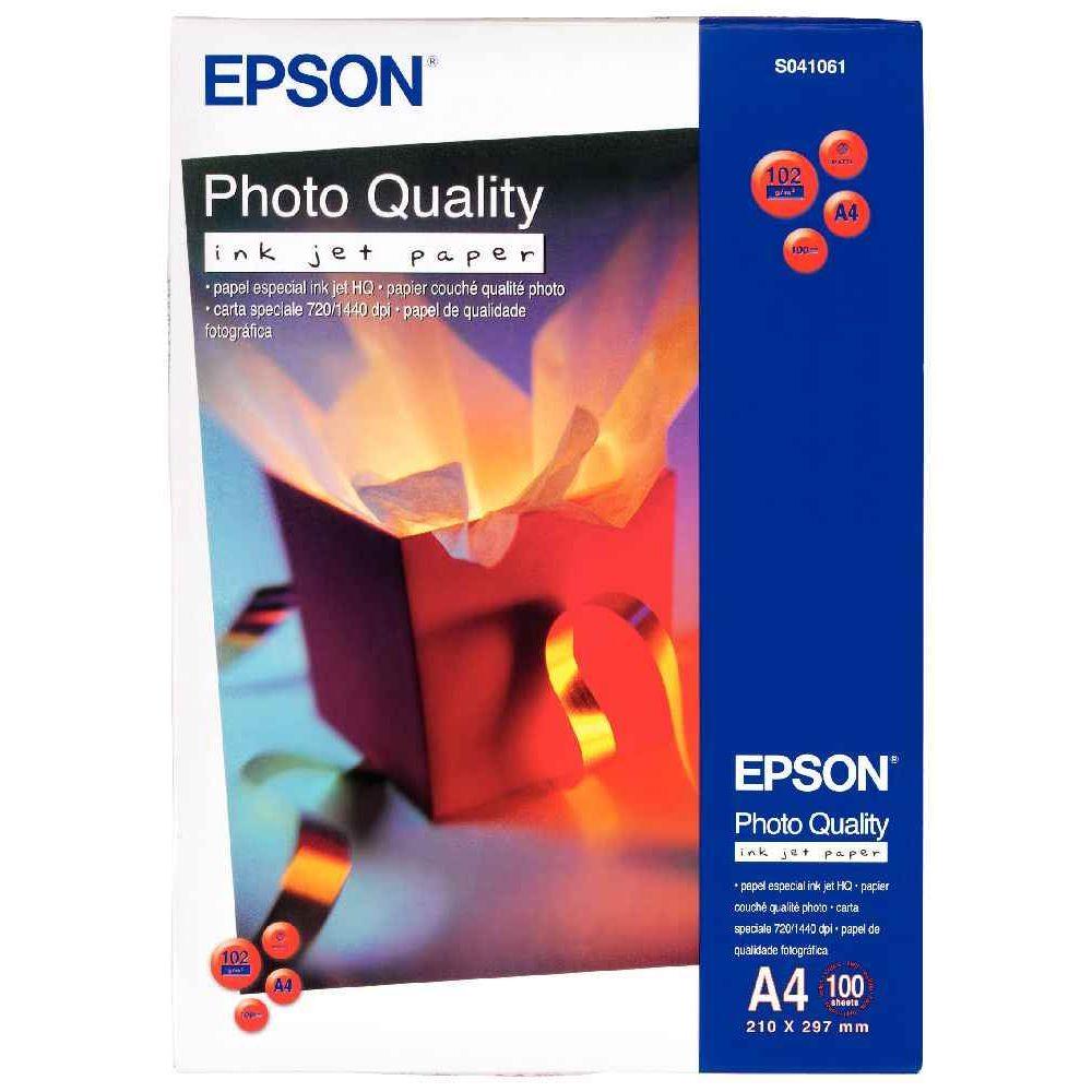 Papier photo couche Epson A4 100g - Paquet de 100 feuilles | Vente on