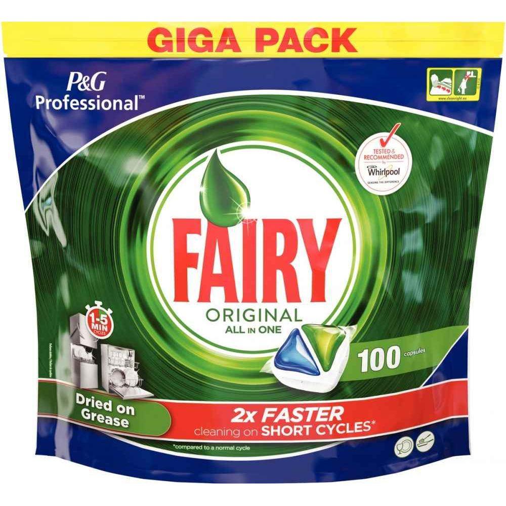 Entretien Du Lave Vaisselle dosette fairy tout-en-un pour lave-vaisselle - paquet de 100
