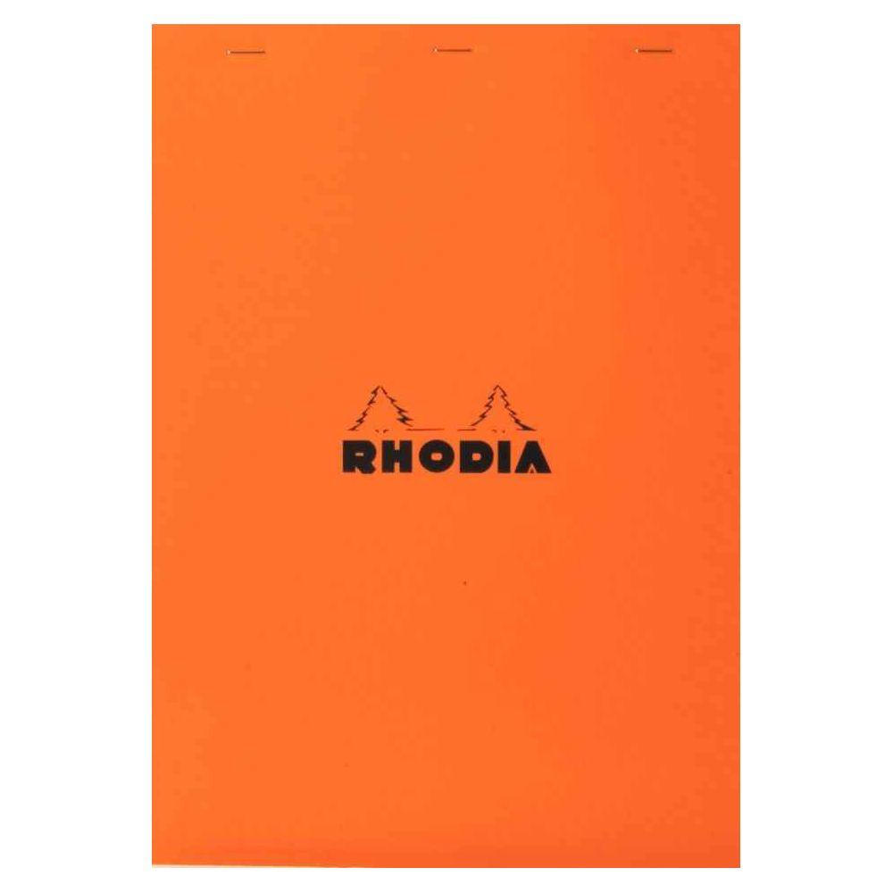 Bloc de bureau rhodia 85x120 80g petit carreaux blanc. Bloc de bureau rhodia 85x120 80g petit carreaux blanc