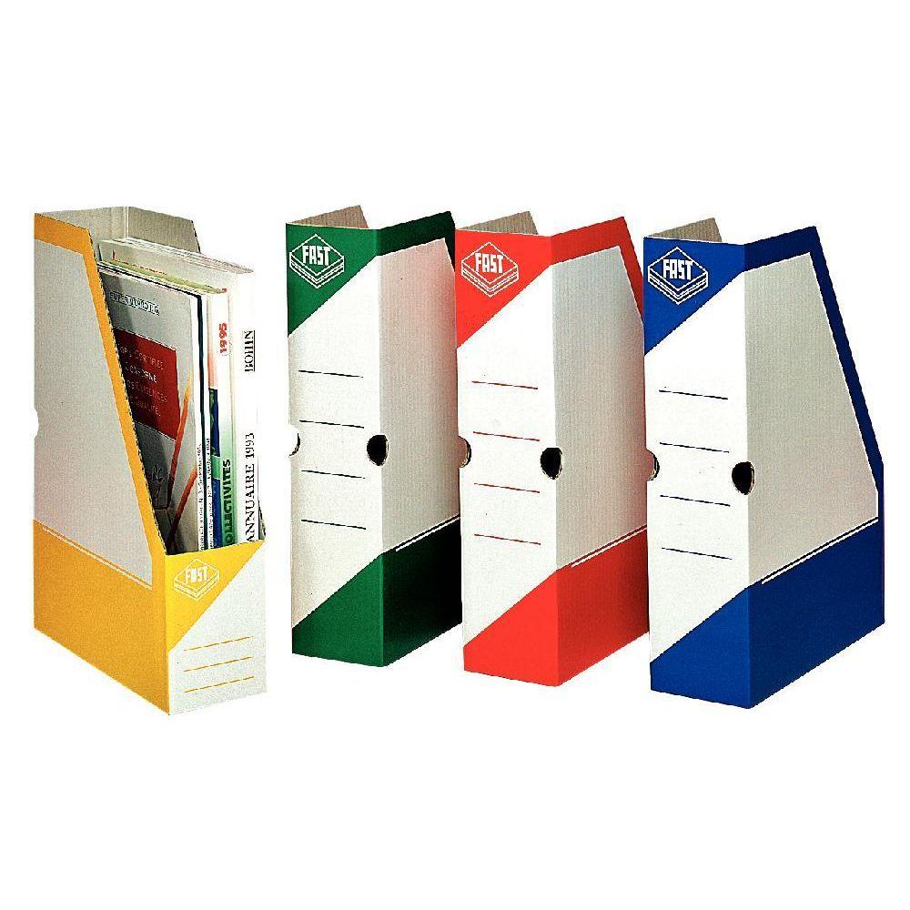 boite de classement pan coupe fast box coloris assortis. Black Bedroom Furniture Sets. Home Design Ideas