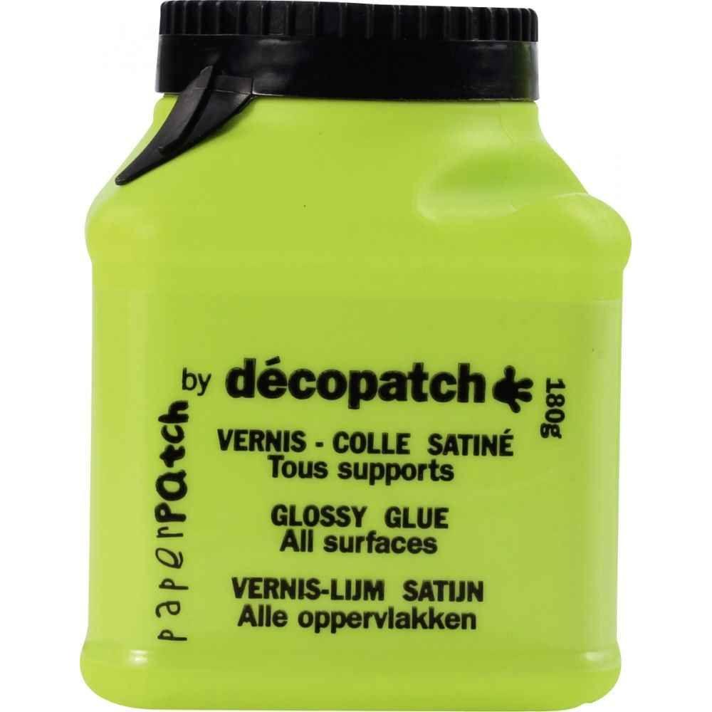 Vernis Colle Plastique Pot De 150g Decopatch Vente De Colle