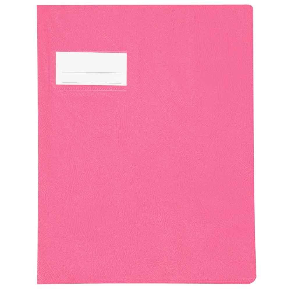 protege cahier pvc 18 100 17x22 rose vente de protege cahier 17x22 la centrale du bureau. Black Bedroom Furniture Sets. Home Design Ideas